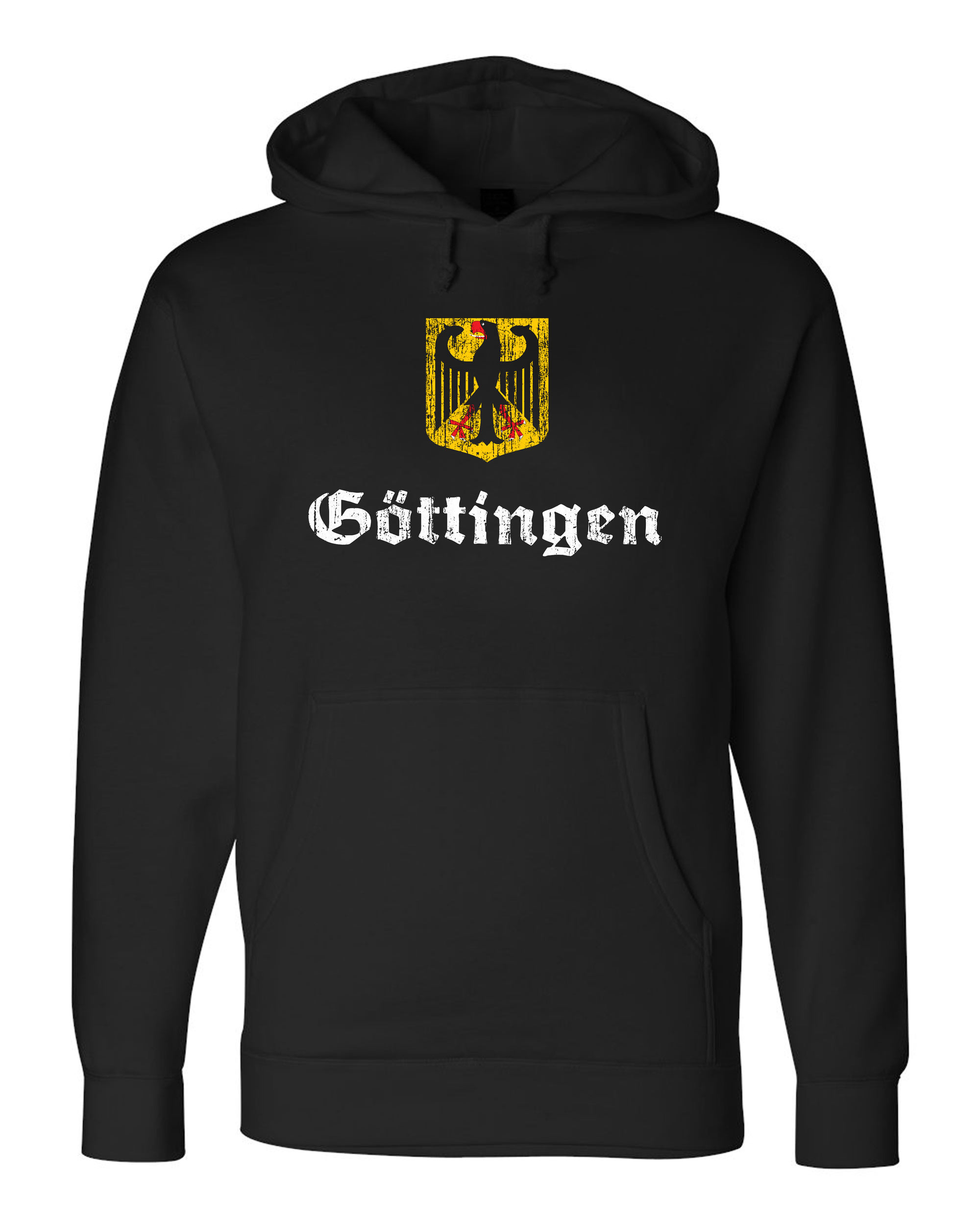 Gottingen Germany  city photos gallery : ... GOTTINGEN, GERMANY Unisex Fleece Sweatshirt Hoody. German City Hesse