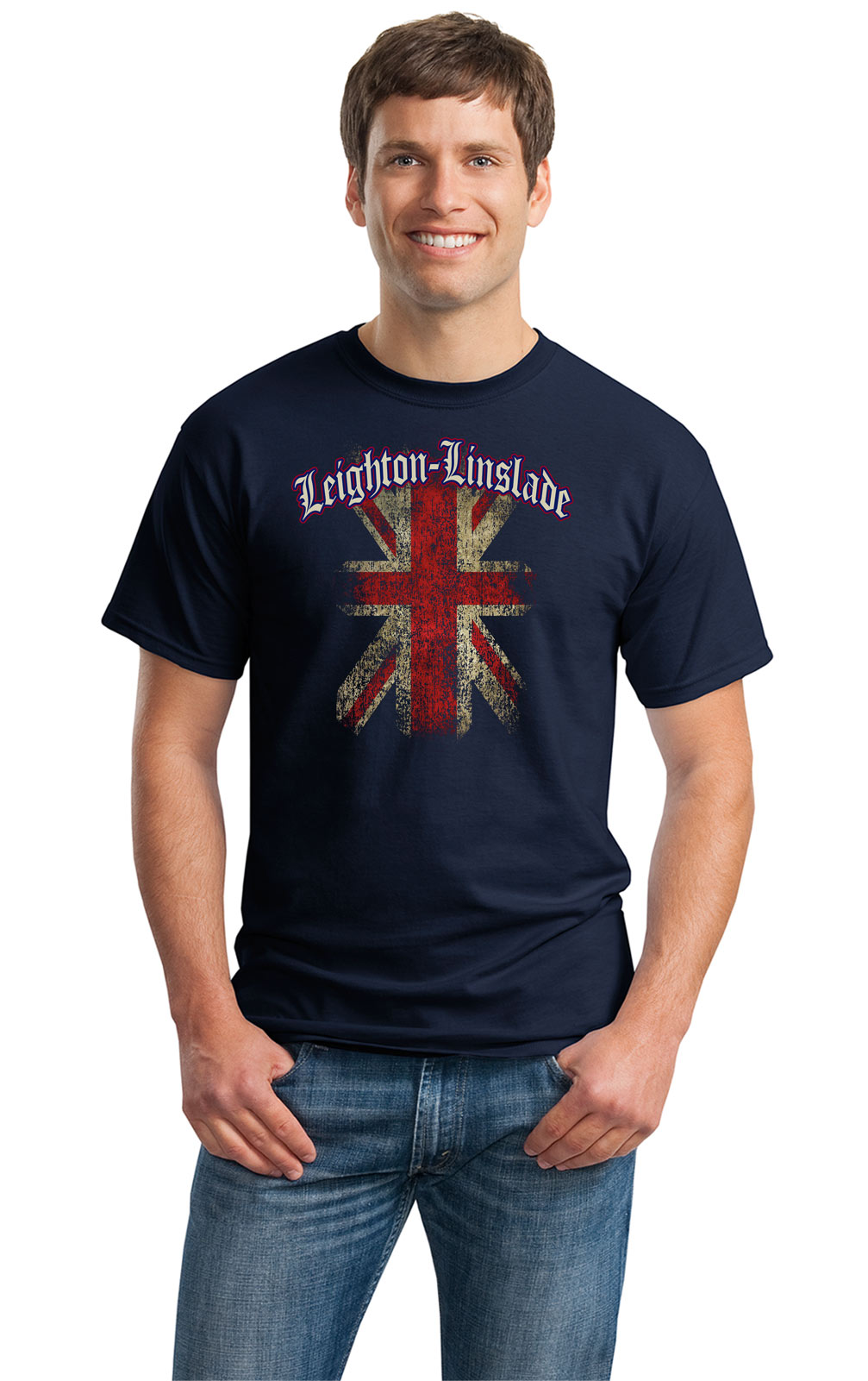 LEIGHTON-LINSLADE-ENGLAND-Adult-Unisex-T-shirt-United-Kingdom-UK-English-Uni