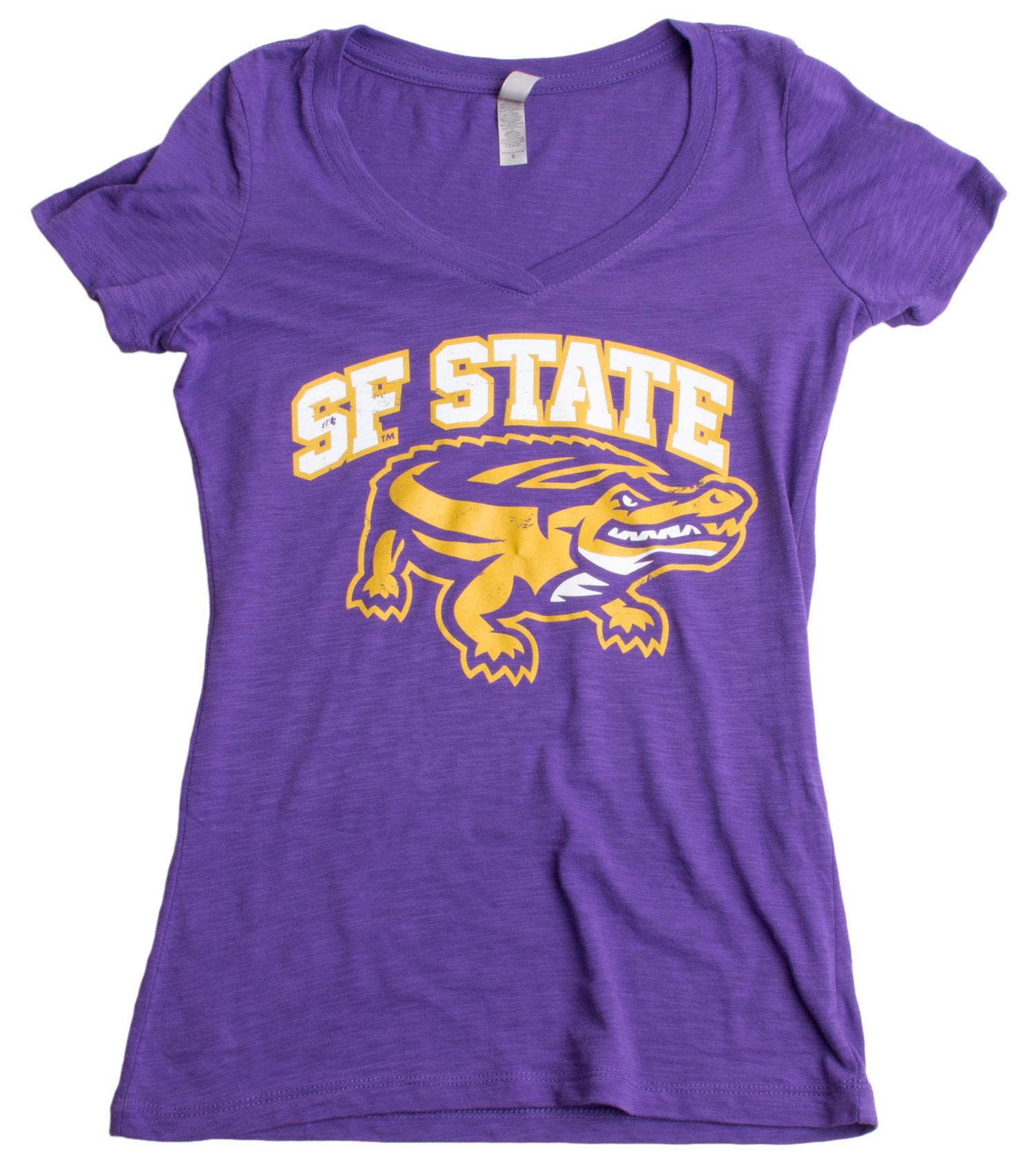 San francisco state university sf state gators ladies for San francisco custom shirts
