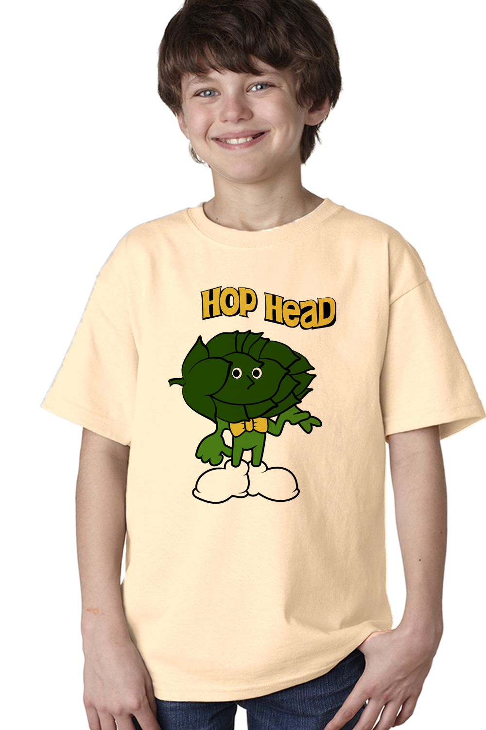 Hop head youth unisex t shirt funny craft beer lover for Funny craft beer shirts